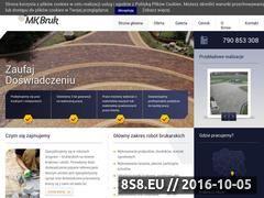 Miniaturka domeny www.mk-bruk.pl
