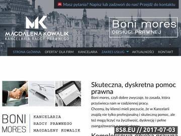 Zrzut strony Kancelaria - rozwód Kraków