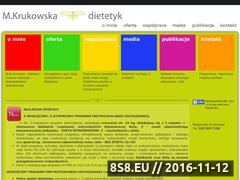 Miniaturka domeny www.mkrukowska.pl