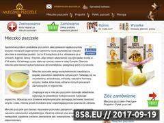Miniaturka domeny mleczko-pszczele.pl