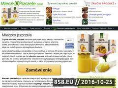 Miniaturka domeny www.mleczkopszczele.com