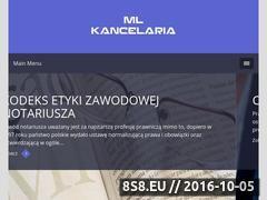 Miniaturka domeny www.mlkancelaria.pl
