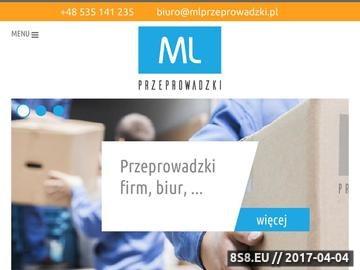 Zrzut strony Profesjonalne przeprowadzki Warszawa