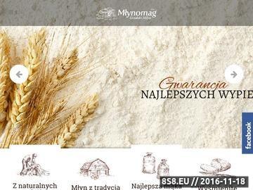Zrzut strony Młynomag - mąka paczkowana
