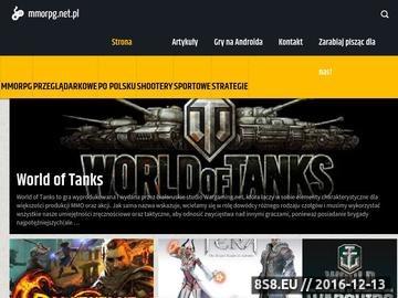 Zrzut strony Mmorpg.net.pl - MMORPG
