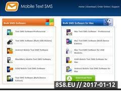 Mobile text/SMS message software Website