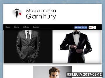 Zrzut strony Recman - salon mody męskiej