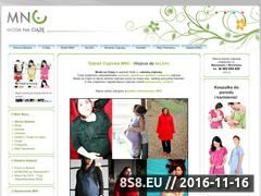 Miniaturka Sklep Moda na Ciążę - elegancka odzież ciążowa (modanaciaze.pl)