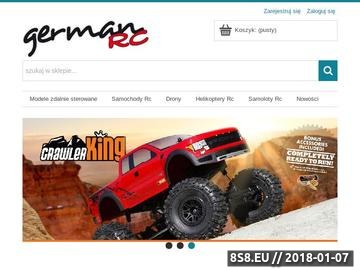 Zrzut strony Sklep modelarski German RC