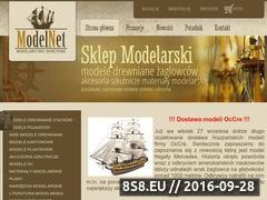 Miniaturka domeny www.modelnet.pl