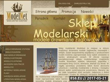 Zrzut strony Sklep modelarski Modelnet