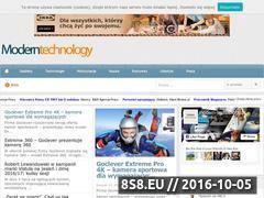 Miniaturka domeny www.modern-technology.pl