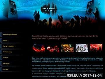 Zrzut strony Technika Estradowa - Nagłośnienie - Oświetlenie - Sceny