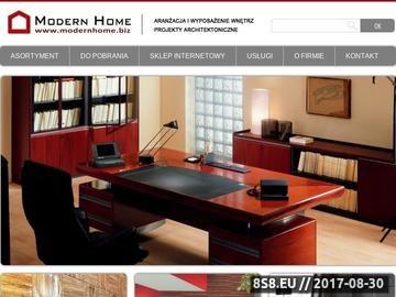 Zrzut strony MODERN HOME - meble szkolne