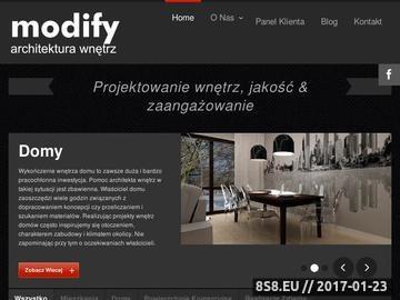 Zrzut strony Projekty wnętrz Warszawa