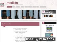 Miniaturka domeny modista.pl