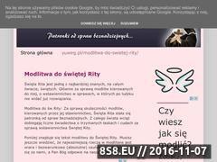 Miniaturka domeny modlitwa-do-swietej-rity.blogspot.com