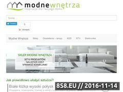 Miniaturka domeny modne-wnetrza.com