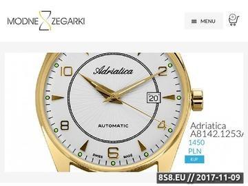 Zrzut strony Modne zegarki