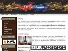 Miniaturka domeny www.modnekominki.pl