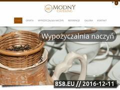 Miniaturka domeny modnycatering.pl