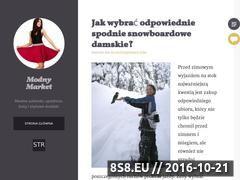 Miniaturka domeny modnymarket.pl
