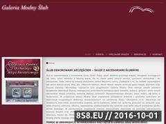 Miniaturka domeny www.modnyslub.pl