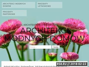 Zrzut strony Modomu - projektowanie wnętrz, architekci, biuro projektowe