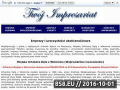 Miniaturka domeny modwolomin.twoj-impresariat.pl