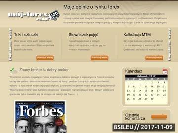 Zrzut strony Opinie o giełdzie Forex