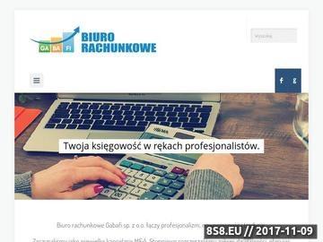Zrzut strony Biuro rachunkowe Warszawa