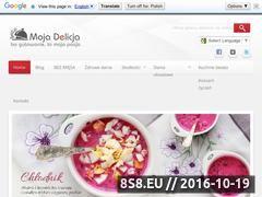 Miniaturka domeny www.mojadelicja.pl