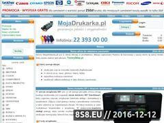 Miniaturka domeny www.mojadrukarka.pl