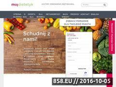 Miniaturka domeny www.mojdietetyk.pl