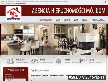 Zrzut strony Pośrednictwo w zakresie kupna i sprzedaży nieruchomości