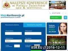 Miniaturka domeny www.mojekonferencje.pl