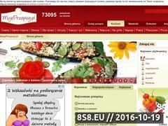 Miniaturka domeny www.mojeprzepisy.pl