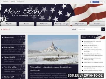 Zrzut strony Baza wiedzy o USA - Moje Stany