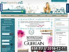 Miniaturka domeny www.mojezapachy.pl