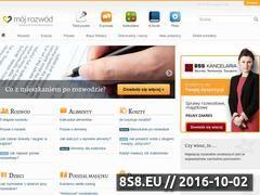 Miniaturka domeny www.mojrozwod.pl