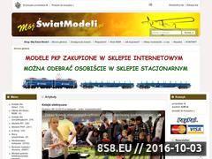Miniaturka domeny www.mojswiatmodeli.pl