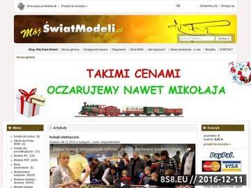 Zrzut strony Modelarstwo - sklep modelarski mojswiatmodeli