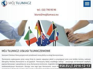 Zrzut strony Tłumacz przysięgły - angielski, niemiecki