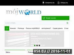 Miniaturka domeny mojworld.pl