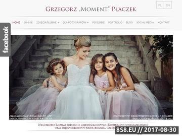 Zrzut strony Fotograf ślubny Kraków