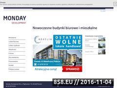Miniaturka domeny www.mondaydevelopment.pl