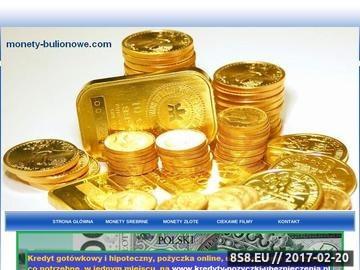 Zrzut strony Złote monety bulionowe