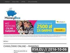 Miniaturka domeny moneybox.pl