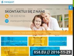 Miniaturka domeny moneyport.pl