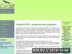 Miniaturka domeny www.monitoringgps.pl